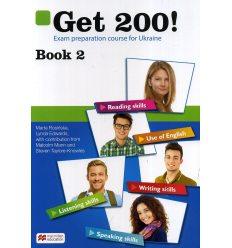 Підручник Англійська мова Get 200! Exam preparation course for Ukraine Book 2 авт. Розінська вид. Макмиллан