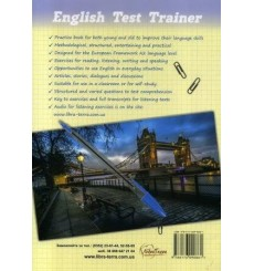 ENGLISH TEST TRAINER (level A2) Тренажер для подготовки к тестам по английскому языку (+аудио) Юркович М. изд: Либра Терра