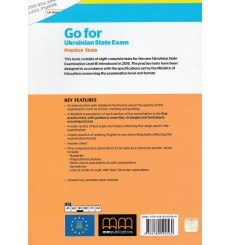 ДПА (ЗНО) 9 клас Go for Ukraine State Exam practice test Level В1 авт. Mitchell вид. MM Publication
