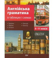 Англійська граматика 5-11 клас в таблицях і схемах авт. Погожих Г. М. вид. Торсінг